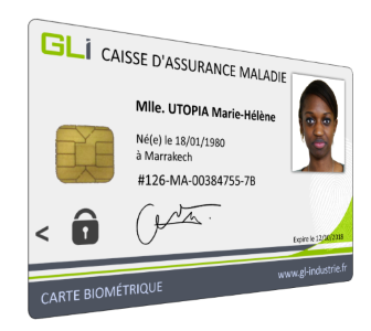 Biometric smartcard