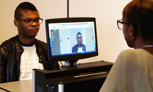 Automatic face capture